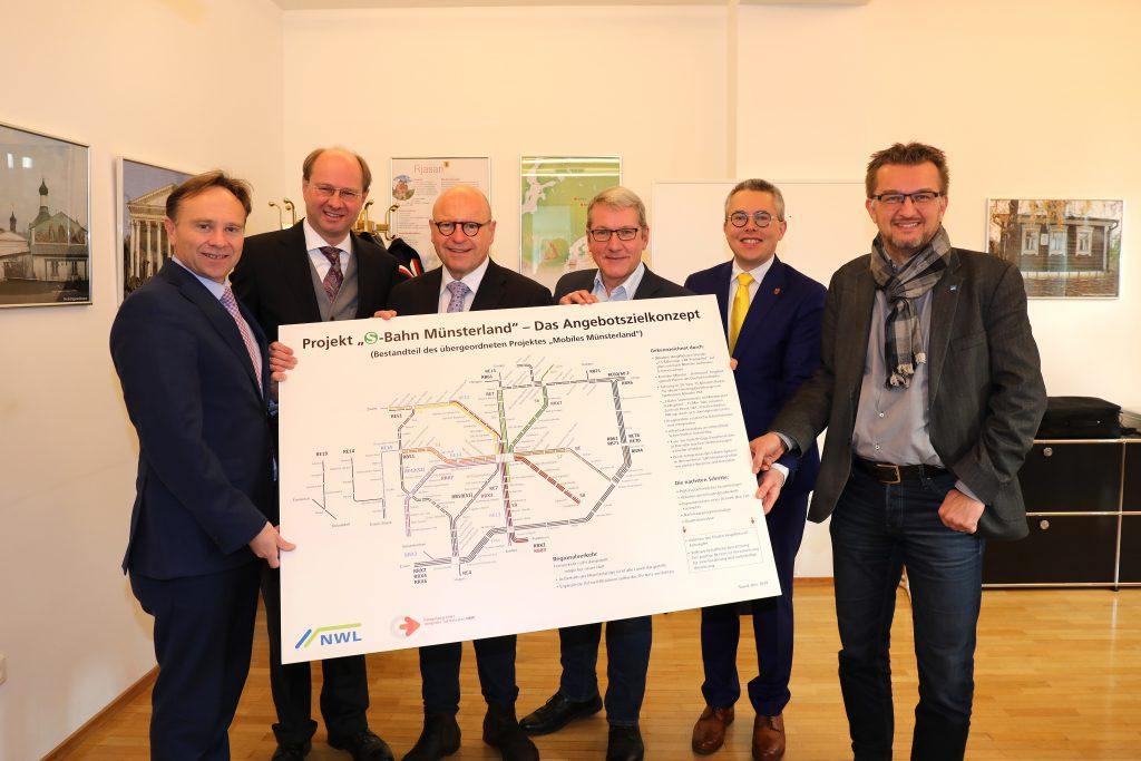 Präsentation der S-Bahn Routen