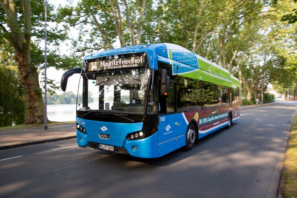 Klimaneutraler Bus