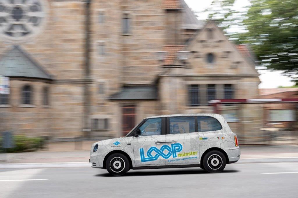 Loop Auto für Car Sharing