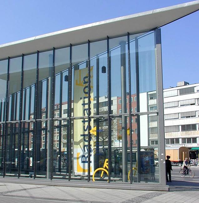 Radstationen in Münster
