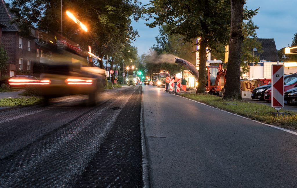 Baustelle Albersloher Weg