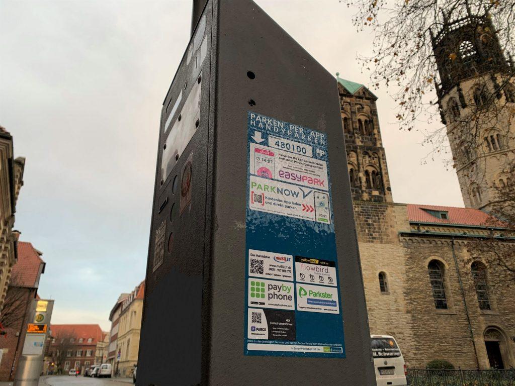 Parken Per App Poster